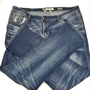 BKE Buckle Derek Straight Leg Mens Jeans Size 44L